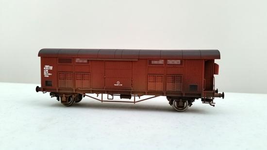 Foto 1 CARRO FFMA rosso vagone