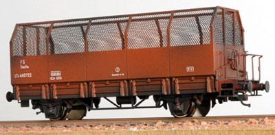 CARRO TRASPORTO CARBONE COKE serie LTK