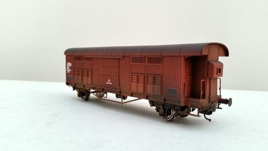 CARRO FFMA rosso vagone